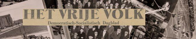 Vrije Volk banner