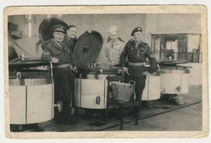 Grandpa at the Willem III Barracks