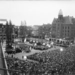 commemoration on the Dam in Amsterdam