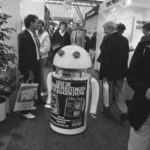 robot at a fair