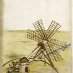 drawing of a mill