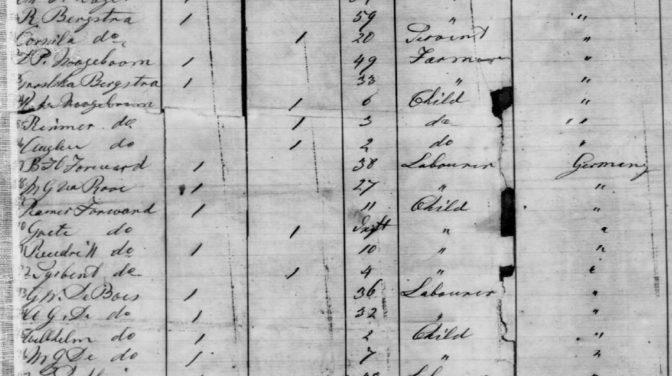 1868 passenger list