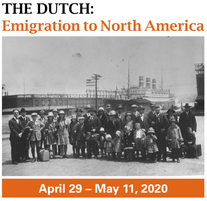 The Dutch: Emigration to North America banner