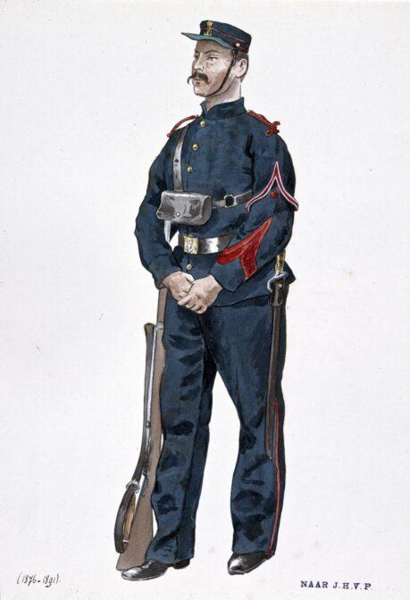 marine in uniform