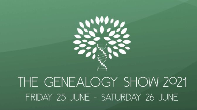 The Genealogy Show logo