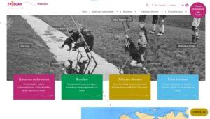 Screenshot Tresoar website